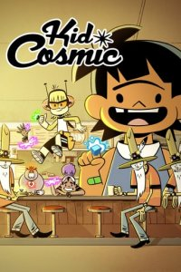 Poster, Kid Cosmic Serien Cover