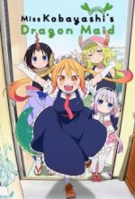 Cover Kobayashi-san Chi no Maid Dragon, Poster Kobayashi-san Chi no Maid Dragon