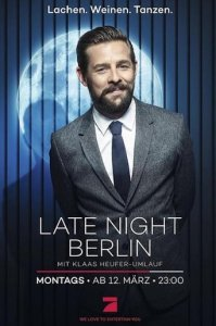 Poster, Late Night Berlin Serien Cover