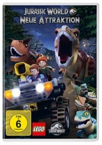 LEGO Jurassic World Cover, Poster, LEGO Jurassic World