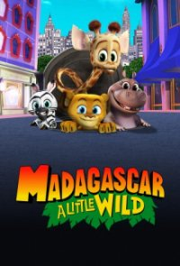 Poster, Madagascar: A Little Wild Serien Cover