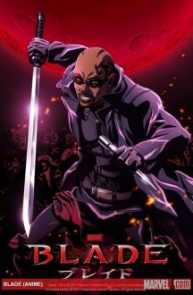 Cover Marvel Anime: Blade, Marvel Anime: Blade