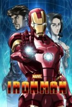 Cover Marvel Anime: Iron Man, Poster Marvel Anime: Iron Man
