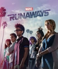 Cover Marvel's Runaways, Poster Marvel's Runaways