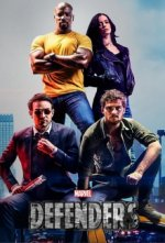 Cover Marvel's The Defenders, Poster Marvel's The Defenders