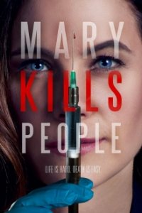 Poster, Mary Kills People Serien Cover
