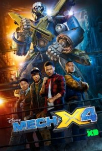 Cover Mech-X4, Poster