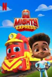 Poster, Mighty Express Serien Cover