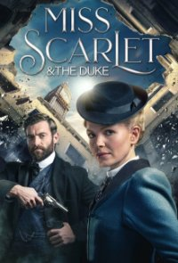 Poster, Miss Scarlet and the Duke Serien Cover