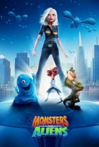 Cover Monsters vs. Aliens, Monsters vs. Aliens