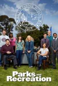 Poster, Parks and Recreation Serien Cover
