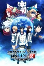 Cover Phantasy Star Online 2 The Animation, Poster Phantasy Star Online 2 The Animation