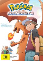 Cover Pokemon Origins, Poster Pokemon Origins