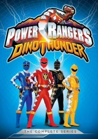 Poster, Power Rangers Dino Thunder Serien Cover