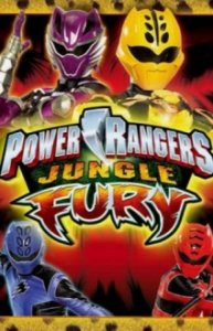 Cover Power Rangers Jungle Fury, Power Rangers Jungle Fury