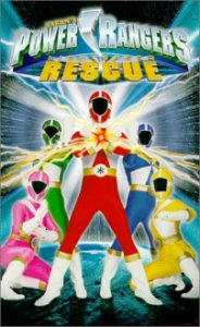 Poster, Power Rangers Lightspeed Rescue Serien Cover