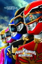 Cover Power Rangers Megaforce, Poster Power Rangers Megaforce