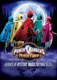 Poster, Power Rangers Mystic Force Serien Cover