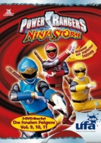Cover Power Rangers Ninja Storm, Power Rangers Ninja Storm