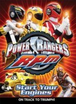 Cover Power Rangers R.P.M., Poster Power Rangers R.P.M.
