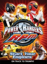 Cover Power Rangers R.P.M., Power Rangers R.P.M.