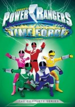 Cover Power Rangers Time Force, Poster Power Rangers Time Force
