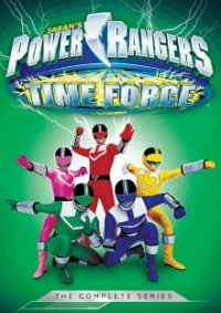 Poster, Power Rangers Time Force Serien Cover