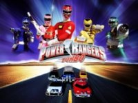 Poster, Power Rangers Turbo Serien Cover