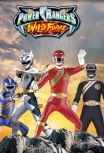 Cover Power Rangers Wild Force, Poster Power Rangers Wild Force