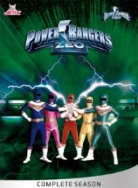 Cover Power Rangers Zeo, Power Rangers Zeo