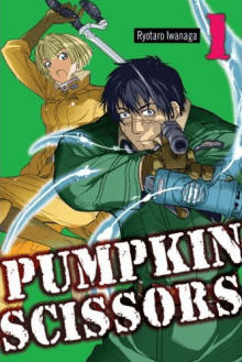 Pumpkin Scissors, Cover, HD, Serien Stream, ganze Folge