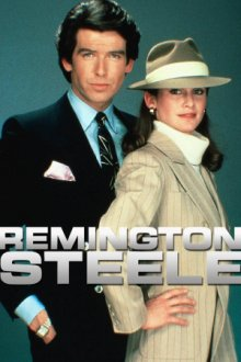 Remington Steele Cover, Online, Poster