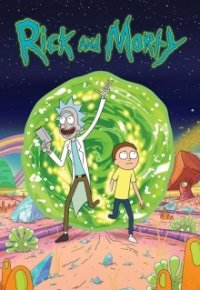 Cover Rick and Morty, Rick and Morty