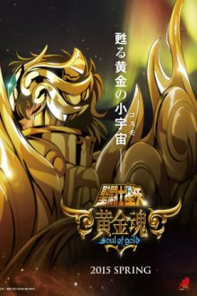 Cover Saint Seiya: Soul of Gold, Poster Saint Seiya: Soul of Gold