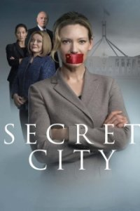 Poster, Secret City Serien Cover