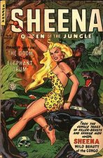 Cover Sheena, Queen of the Jungle, Poster Sheena, Queen of the Jungle