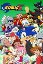 Cover Sonic X, Poster Sonic X
