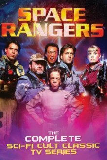 Cover der TV-Serie Space Rangers