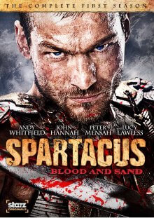 Spartacus: Blood and Sand Cover, Poster, Spartacus: Blood and Sand DVD