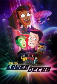 Poster, Star Trek: Lower Decks Serien Cover