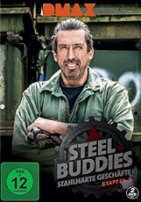 Poster, Steel Buddies Serien Cover
