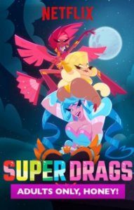 Poster, Super Drags Serien Cover