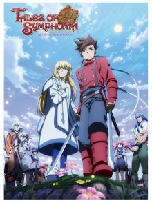 Poster, Tales of Symphonia Serien Cover