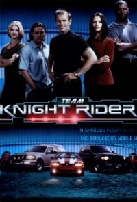 Poster, Team Knight Rider Serien Cover