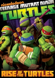 Teenage Mutant Ninja Turtles, Cover, HD, Serien Stream, ganze Folge