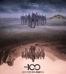 Cover von The 100 (Serie)