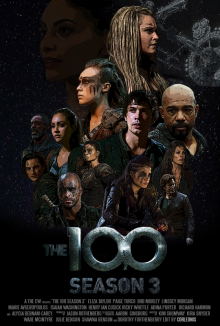 The 100, Cover, HD, Stream, alle Folgen