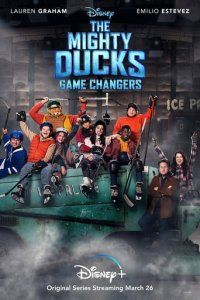 Poster, The Mighty Ducks: Gamechanger Serien Cover