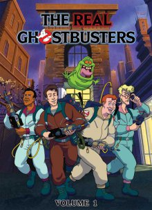 The Real Ghostbusters Cover, Online, Poster