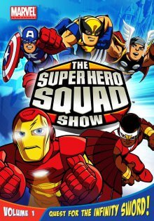 Cover The Super Hero Squad Show, Poster The Super Hero Squad Show